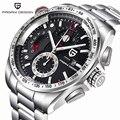 Pagani Design Em Aço Inoxidável Completa Sports Relógios Homens Top Marca de Luxo Relógios de Quartzo Relógios Relogio masculino