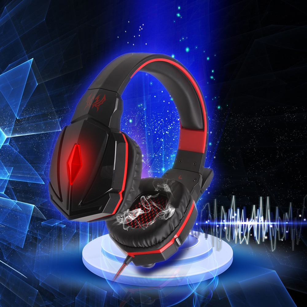 Computer Stereo Gaming Headphones Deep Bass Game Earphone Headphone Headset Gamer with Microphone Wireless headphones 3 5mm universal gaming over ear headset earphones computer game headphones with microphone for gamer stereo bass for computer pc