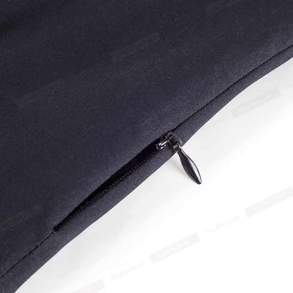 Женское лоскутное деловое платье Nice-forever, винтажное платье-колокол черного и темно-синего цвета, расширяющееся книзу, с цветочной вышивкой и открытыми плечами, 2019