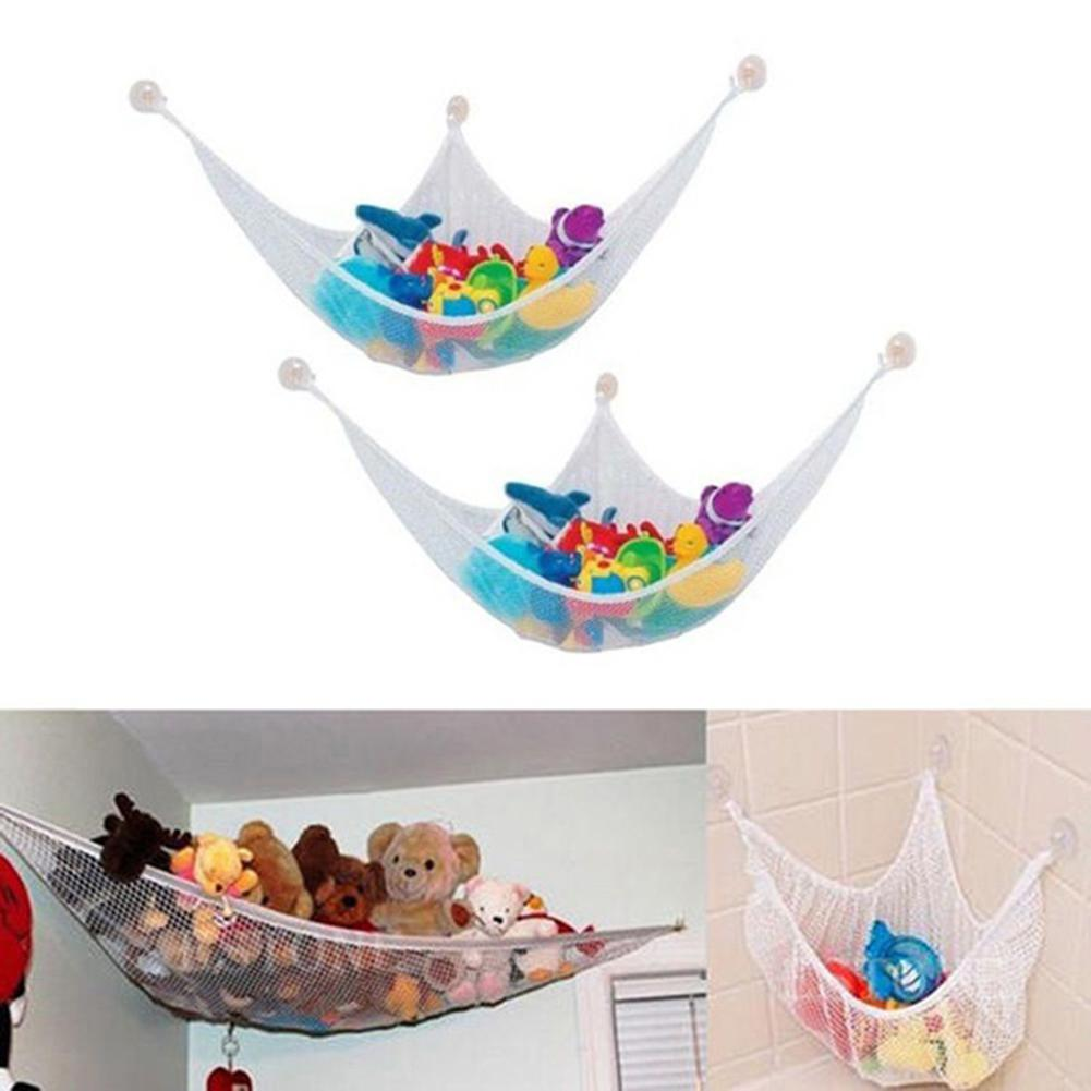 Activity & Gear Mother & Kids Temperate New Hanging Organizer Kids Toy Storage Net Stuffed Plush Doll Hammock Save Space Handsome Appearance