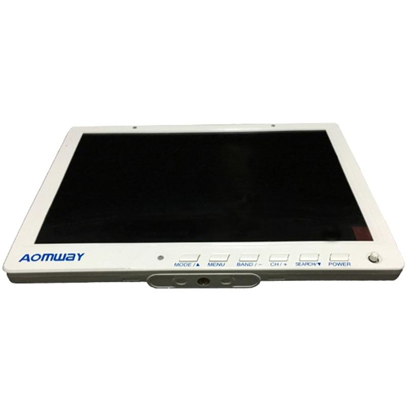 Em estoque!!! Diversidade FPV Aomway 10 Polegada Monitor 5.8g 40CH HD588 HD Monitor de 1920x1200 com DVR Construir em Bateria para a corrida de zangão