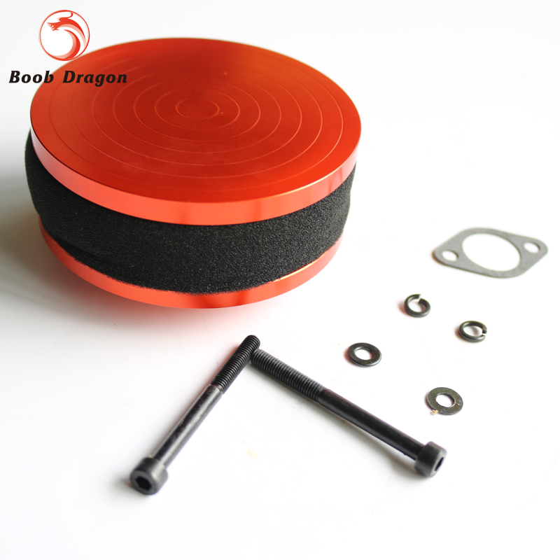 CNC Alloy Air Filter kit For Losi 5ive T Rovan LT King Motot X2 cnc metal alloy rear wheel bearing kit for losi 5ive t rovan lt