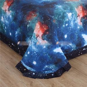 Image 4 - 3D Hipster pościel z motywem galaktyki wszechświat kosmos tematyczne galaktycznym nadrukiem pościel kołdra okładka Flast arkusz i poszewka na poduszkę