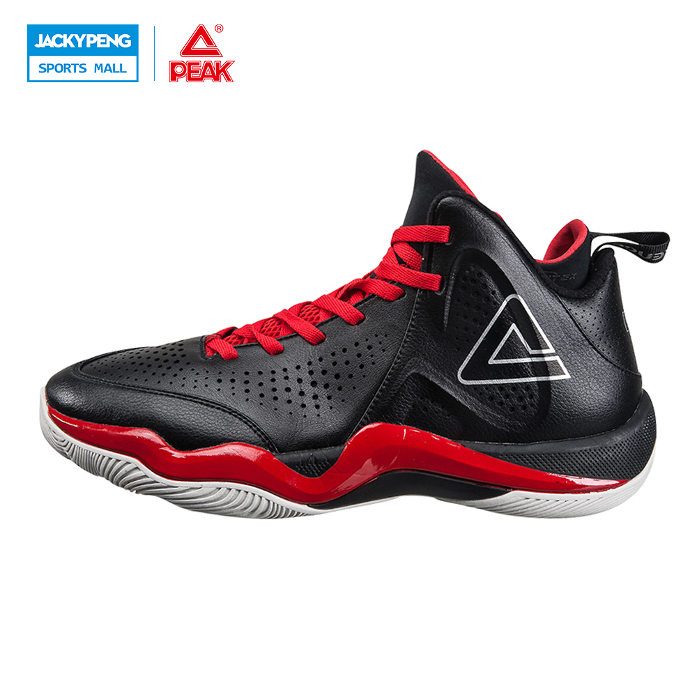 PEAK SPORT Challenger 2.2 Men Basketball Shoes Breathable Training Boots FOOTHOLD Tech Competitions Athletic Sneaker EUR 40-47 peak sport star series george hill gh3 men basketball shoes athletic cushion 3 non marking tech sneakers eur 40 50