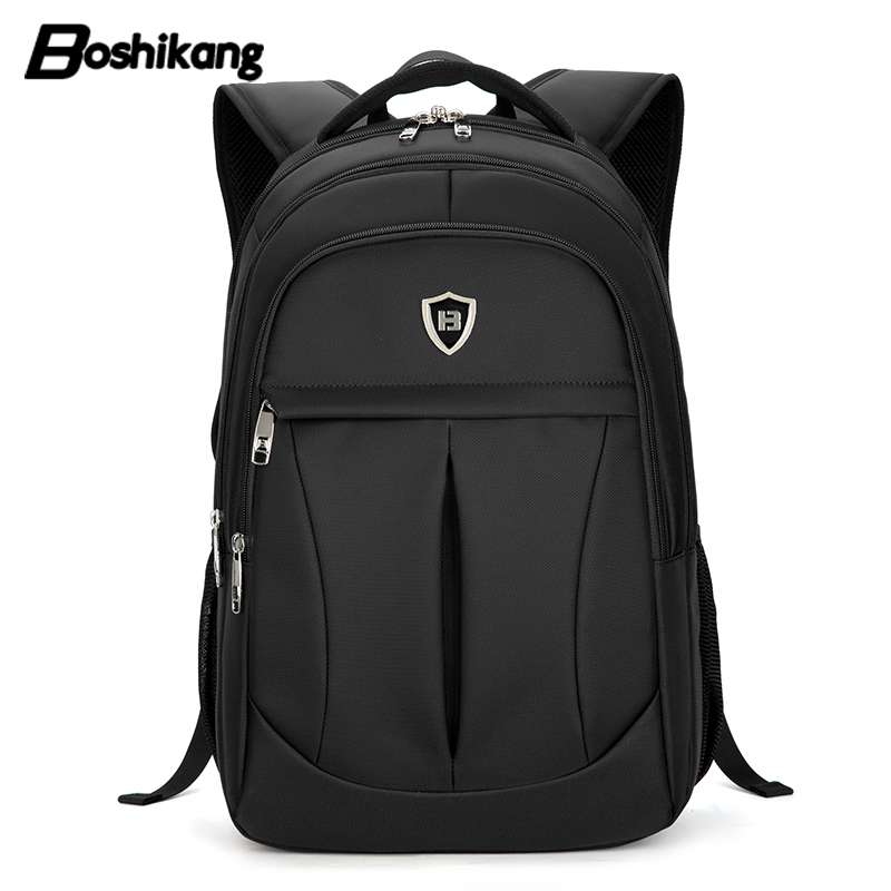 b3a4330ac48 Boshikang Men Fashion Travel Backpack Oxford Zipper High Quality Business Rucksack  School Bag New Back Pack Big Daypack-in Backpacks from Luggage   Bags on ...