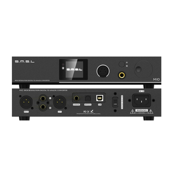 SMSL M10 AK4497 Chip Full balanced headphone amplifier& DAC Support DSD512 PCM768kHz USB Digital Decoder Power Amplifier 3