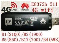 مقفلة هواوي E8372 150 7.2mbps مودم E8372-511 4 جرام wifi راوتر 4 جرام lte wifi مودم lte band1/2/4/5/17 ، pk E8278 w800 e5372 e3276
