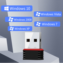 MT7601 мини USB Wifi адаптер 802.11n Антенна 150 Мбит/с USB беспроводной приемник сетевая карта USB WiFi Donglei для рабочего стола