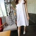 Лето базовые юбка без тары без рукавов для беременных платья для беременных одежда женщины платья