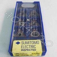 TNMG160408N EX AC520U 10 teile/schachtel Sumitomo Neue original Hartmetall klinge-in Drehwerkzeug aus Werkzeug bei