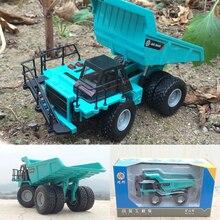 Высокая имитация 1: 60 масштаб металла инженерный автомобиль Ванна грузовик самосвал сплав модель автомобиля для детей подарки игрушка