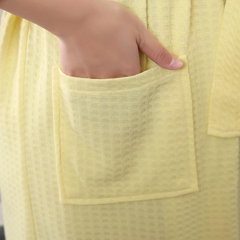 Unisex Mens Women\'s Long Cotton Sleep Lounge Robes RBS-C LYQ115 14