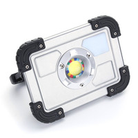 NEW Safurance 30W LED Portable Rechargeable Flood Light Spot Work Outdoor Lawn Lamp Roadway Safety Traffic