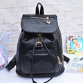 Black Classic - New fashion trend women backpacks Korean student bag PU shoulder bags free shipping gift for girls