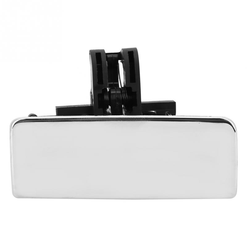 Car Glove Box Lid Handle Silver Chrome For Fiat Grande