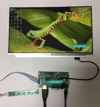 NEW 13.3 inch 1920*1080 IPS Screen Display HDMI+VGA Driver Board LCD Panel Module Monitor Laptop PC Raspberry Pi 3 Car DIY eyoyo em13n 13 3 monitor full hd 1920 1080 hdmi lcd monitors with hdmi vga video audio cctv pc gaming monitor raspberry pi