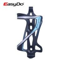 EasyDo Ultraligero De Aluminio Diseño de carga Lateral Lisa En Molde Fuerte Para Bicicleta Ciclismo Water Bottle Holder Jaula 47g