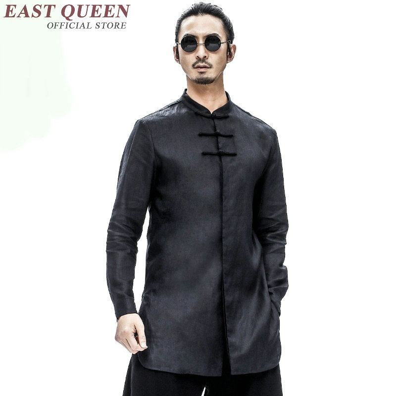 Traditional Chinese Clothing For Men Cheongsam Top Tang Suit Chinese Traditional Top Tangzhuang Men Costume  KK008-in Tops from Novelty & Special Use    1