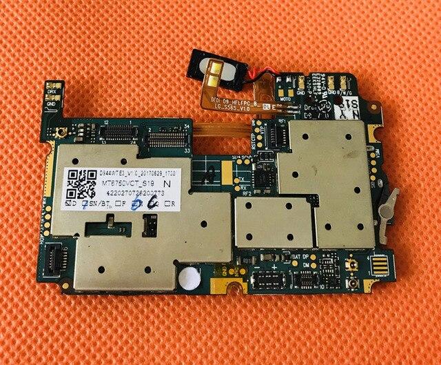 """Gebruikt Originele Moederbord 4G Ram + 64G Rom Moederbord Voor Leagoo T5 MT6750T Octa Core 5.5 """"Fhd 1920X1080 Gratis Verzending"""