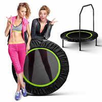 40ich Faltbare Trampolin Rebounder für Erwachsene Gym Cardio Jump Workout Stabilität Training Übung Fitness Hause Unterhaltung