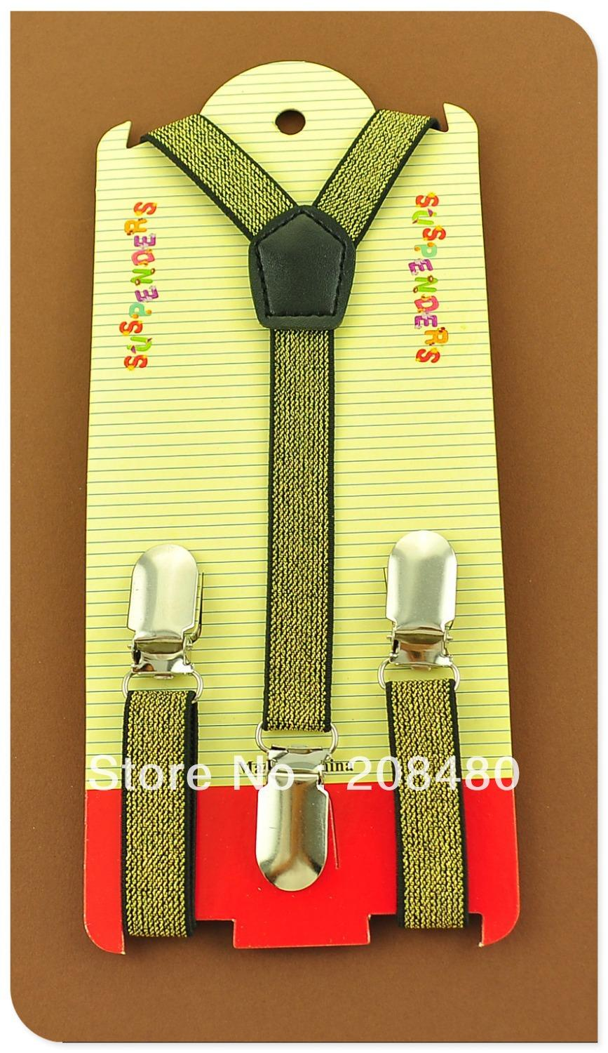 Free Shipping-New KIDS Suspenders 1.5cm Wide