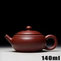 High-grade Yixing Teapot Teapots Bouns 3 Cups 140ml Purple Clay Tea PotCeramic Chinese Handmade Kung Fu Set Porcelain Kettle