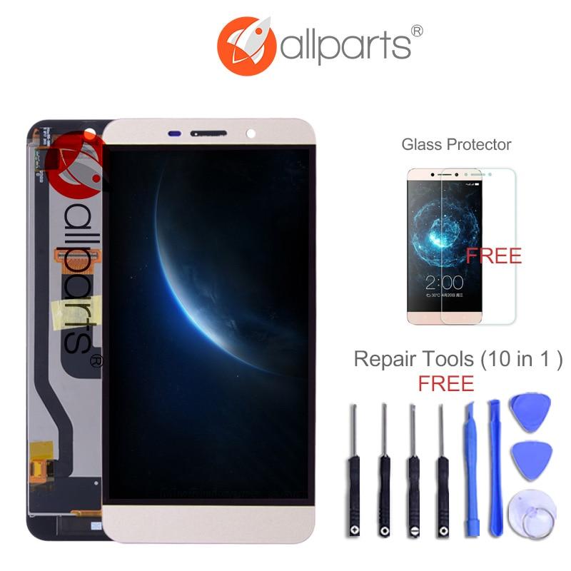 No Dead Pixel ALLPARTS 5.5 ''2560x1440 Display Per Letv Un 1 Pro Letv X800 LCD Touch Screen Digitalizzatore Sostituzione Oro bianco