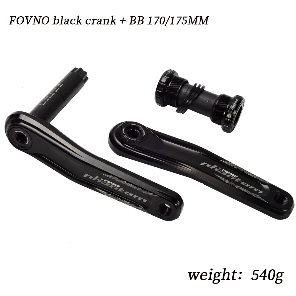 FOVNO mountain bike crank sprocket CNC crank sprocket 104bcd direct loading disc GXP crank xx1 positive and negative crank set in Bicycle Crank Chainwheel from Sports Entertainment