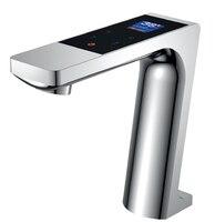 Цифровой вентиль бассейна светодиодный дисплей термостатический touch кран бассейна смесителя touch раковины шоу с поток воды
