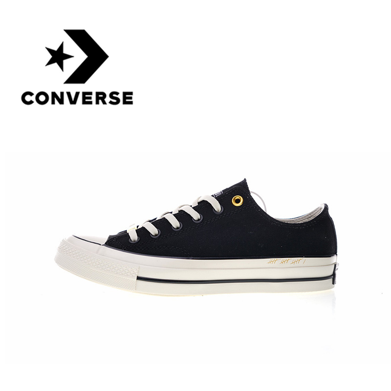 Original authentique Converse 1970 S bas chaussures de skateboard respirant Sport extérieur résistant à l'usure poids léger baskets 2019