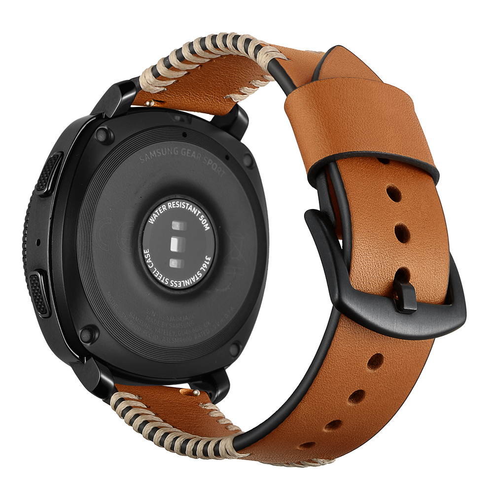 20mm Bracelet For Samsung Gear S2  Wacth Band Genuine Leather Watch Strap For Samsun Gear Classic Sport Watch Replacement Parts смарт часы samsung gear s2 black