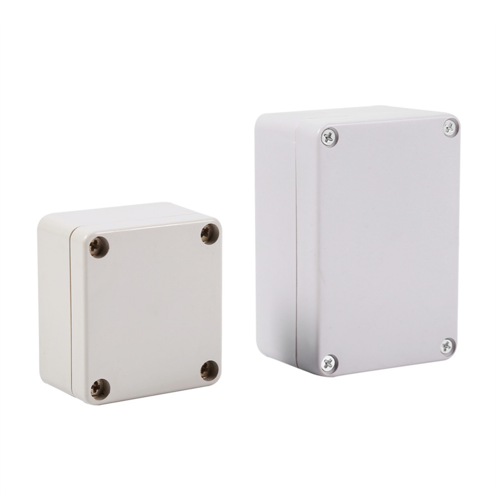 1Pc Waterproof Plastic Enclosure Box Electronic Project Instrument Case Outdoor Junction Box Housing DIY