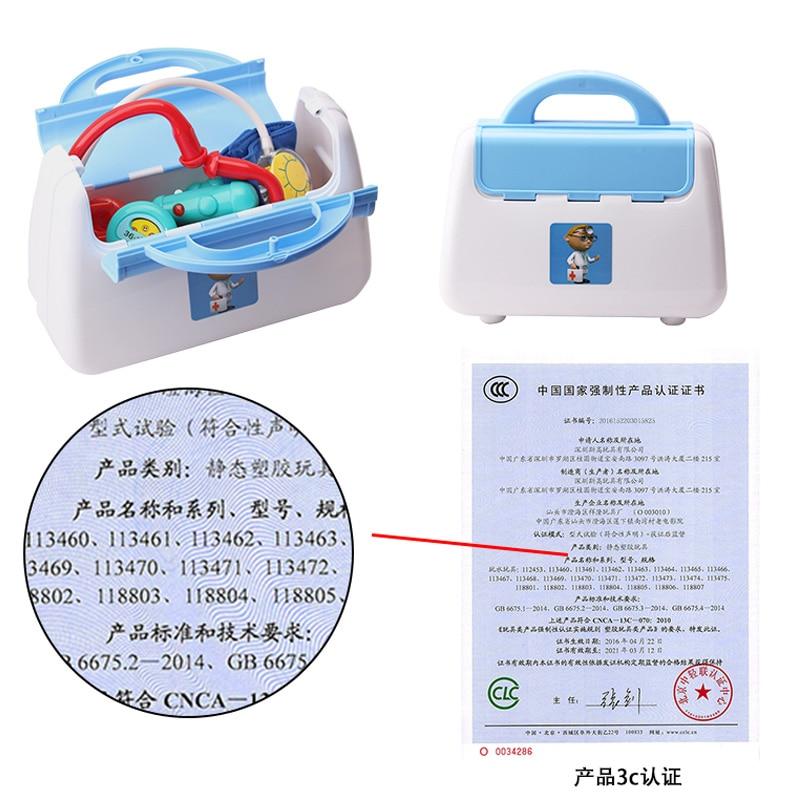 + Colthes Kid Doctor Set Mini Kit de Herramientas Médicas Juego de - Juguetes clásicos - foto 4
