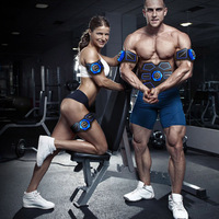 Hot Electronic Abdominal Exerciser Belt Muscle Trainer Smart EMS Stimulator Slim Training Fitness Gear Workout Equipment 2018