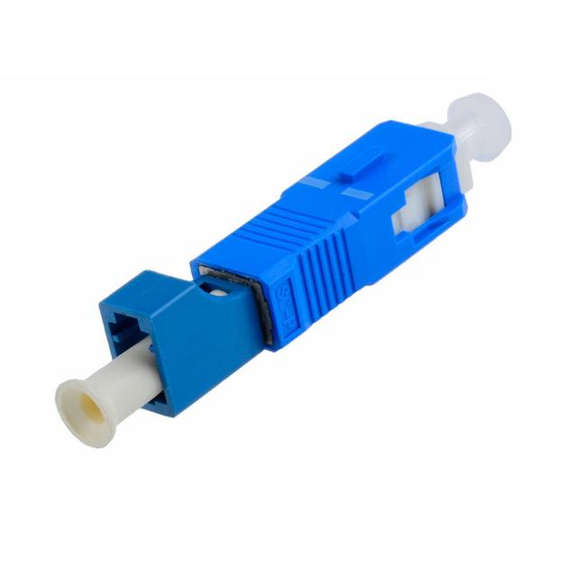 5 UNIDS SC-LC adaptador adaptador de fibra Óptica SC LC Turn round square brida acoplador de fibra Óptica SC-LC Envío gratis