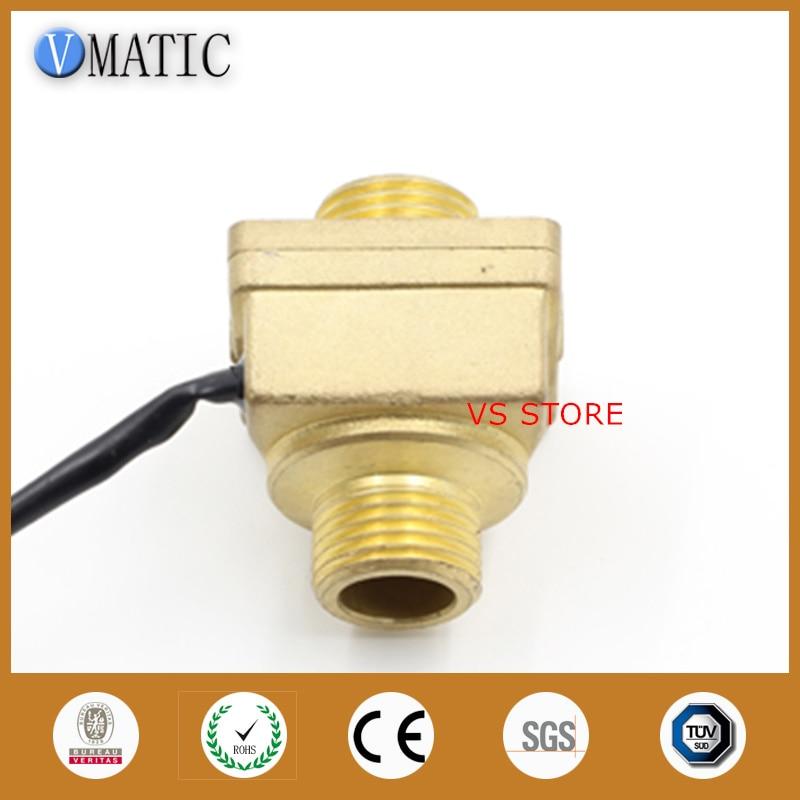 Vertical /horizontal Magnetic Water Sensor Flow Switch все цены