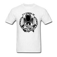 Quanh Cổ Người Đàn Ông Nó Sẽ Được Huyền Thoại T Shirts awesome thư 2017 Thời Trang Tee Áo Sơ Mi Người Đàn Ông Trưởng Thành Feminina Trang Phục