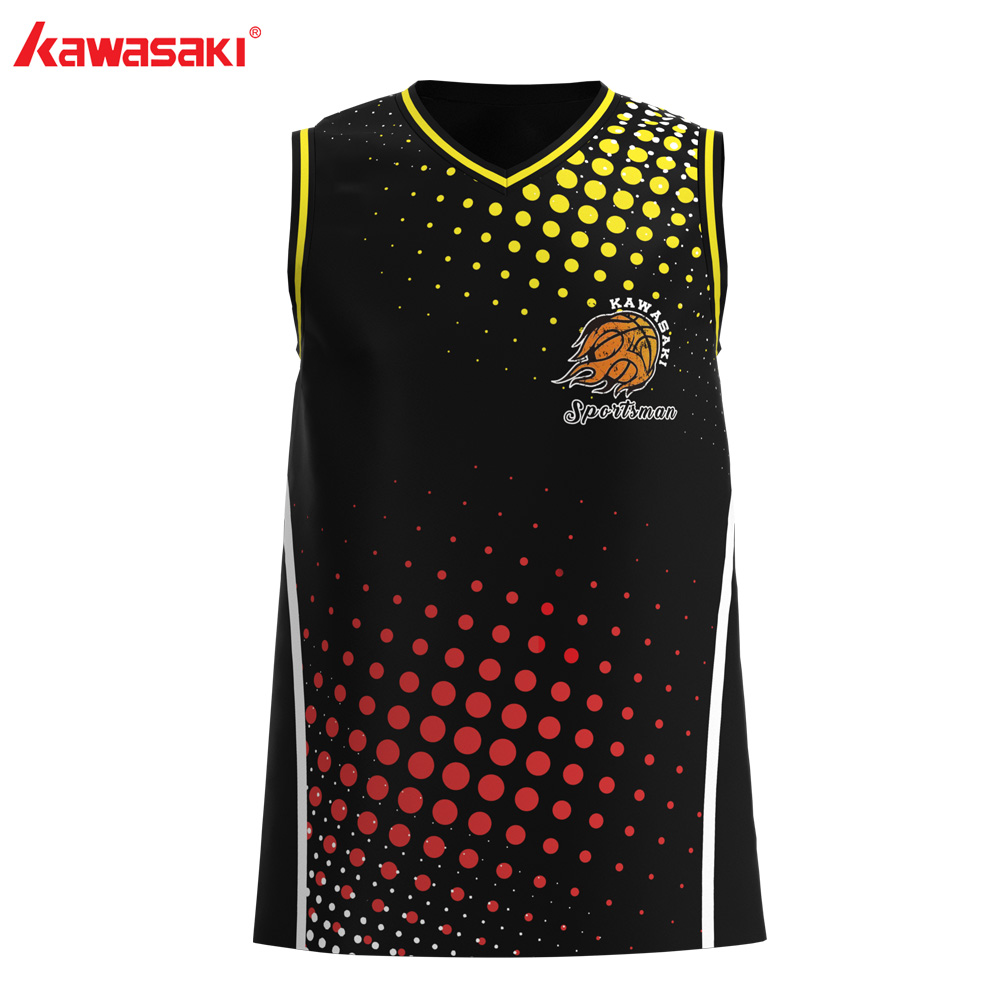 Brand Kawasaki Basketball <font><b>Jersey</b></font> Shirts #1 <font><b>USA</b></font> Mens & Women Collage Custom Breathable Practice Exercise Train Basketball Vest image