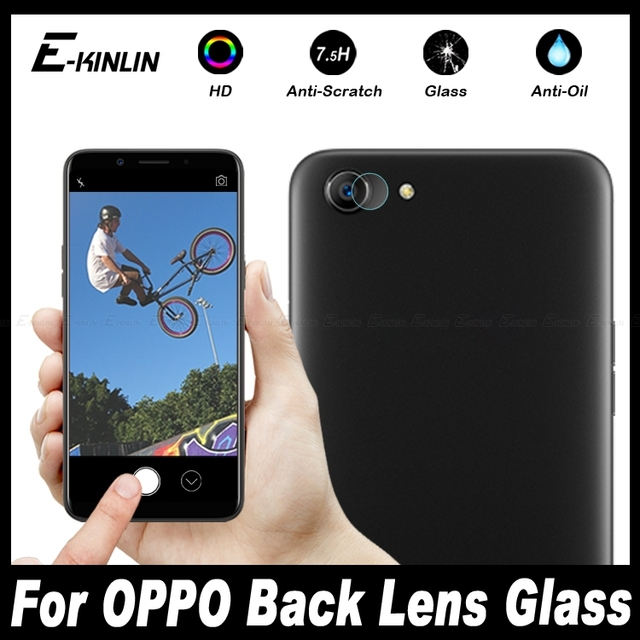 US $1 07 43% OFF|Back Camera Lens Protective For OPPO A83 A79 A75 A75s A73  A73t A59 A57 A39 A37 A1 A71 2018 Clear Tempered Glass Protector Film-in