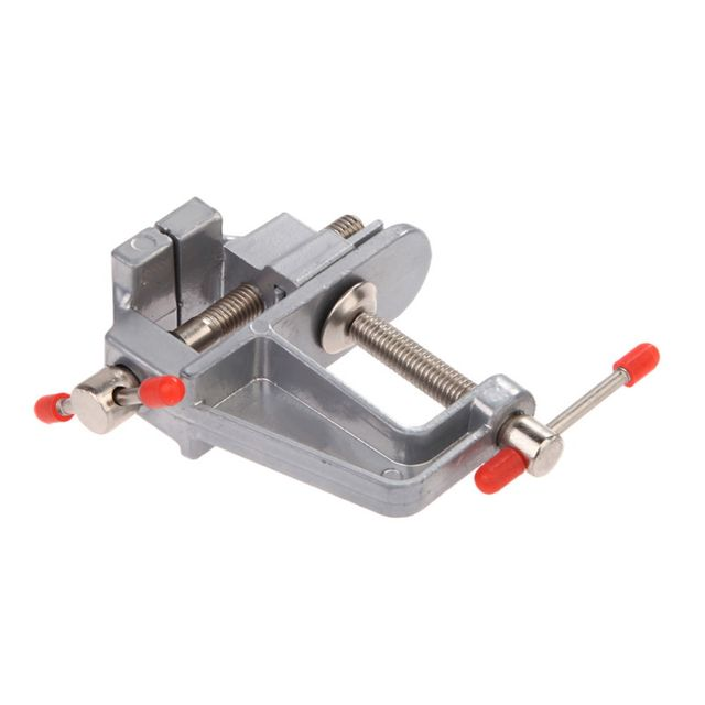 online shop 3 5 aluminum pipe clamp miniature vise small jewelers
