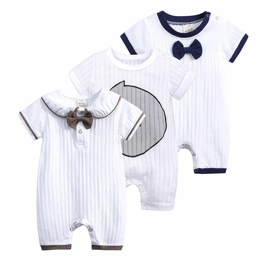 bbddd5b8a6a1e New trendy Cute Baby Bodysuits Newborn Toddler Infant Baby Boys Girls  Striped Casual Jumpsuit Outfits Summer Clothing baptism