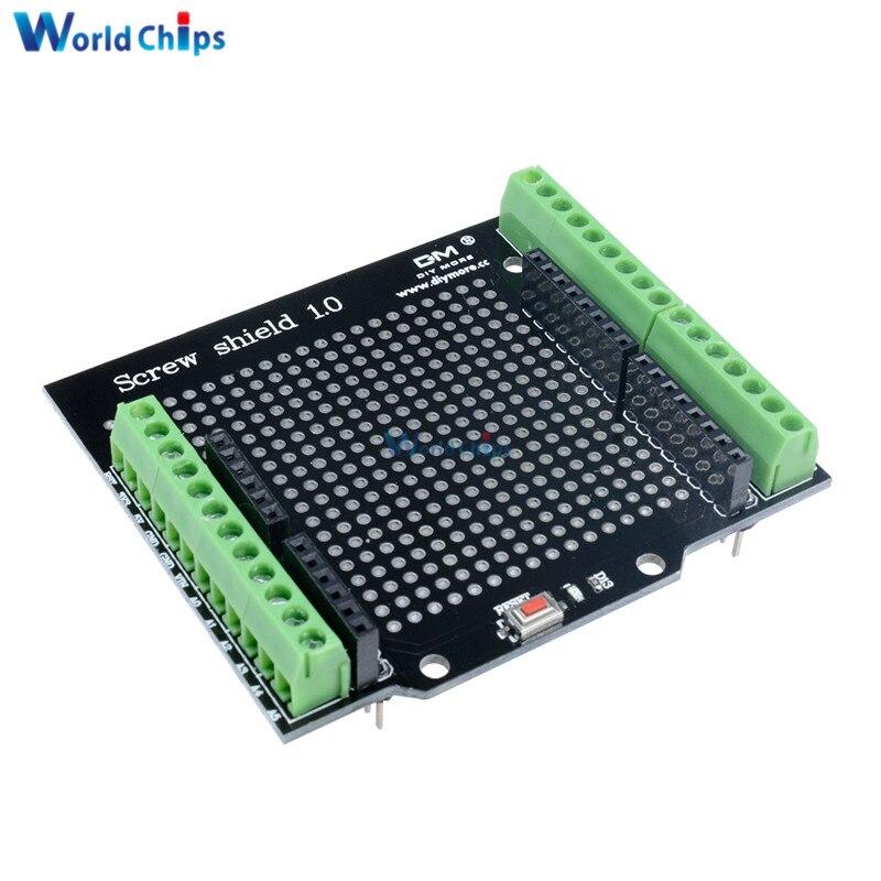 5PCS Arduino Compatible Improved version Screw Shield Board A6 A7 Proto new