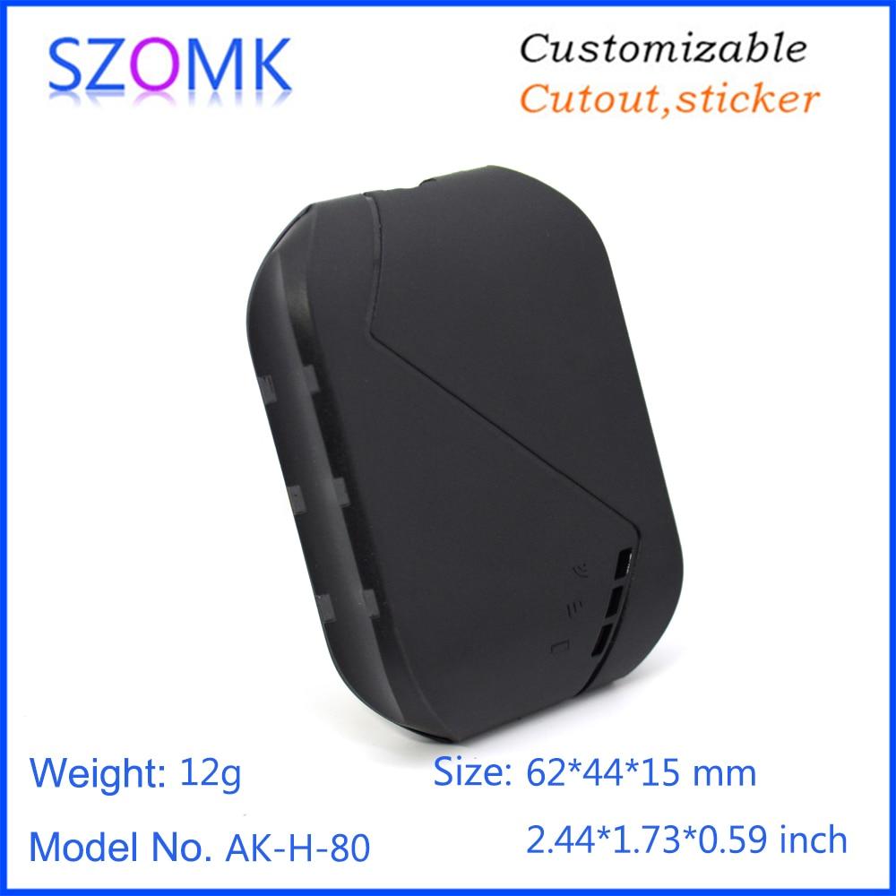 GPS plastic enlcosure szomk plastic enclosure box small instrument enclosure housing for electronics pcb design  (10)