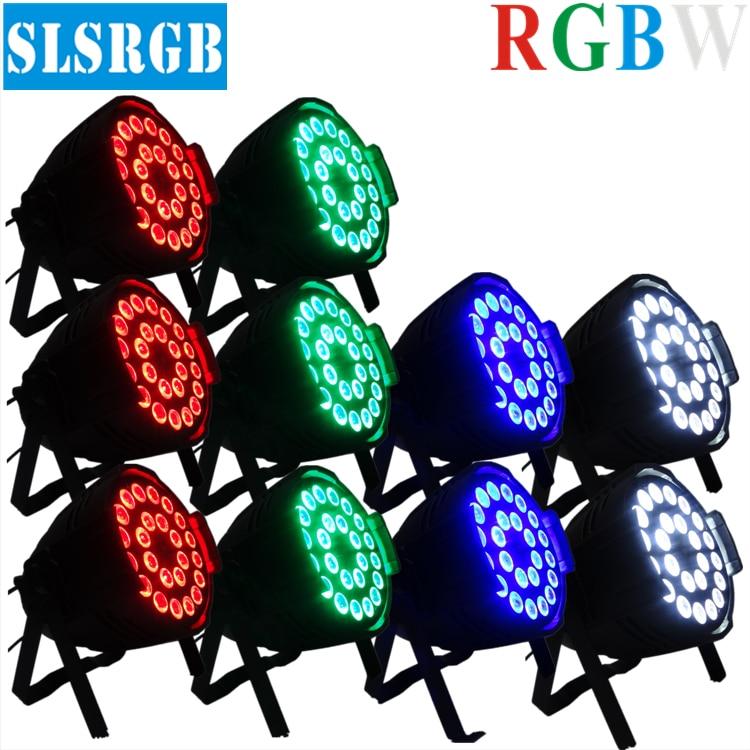 10pcs/lot pro lighting outdoor 4in1 quad color 24pcs 12w led par led par 64 rgbw dmx stage light 24*12W RGBW disco party light