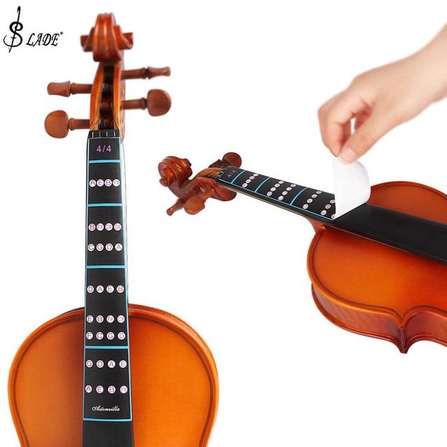 Slade 4/4 Violin Intonation Sticker Fretboard Note Label Fingering