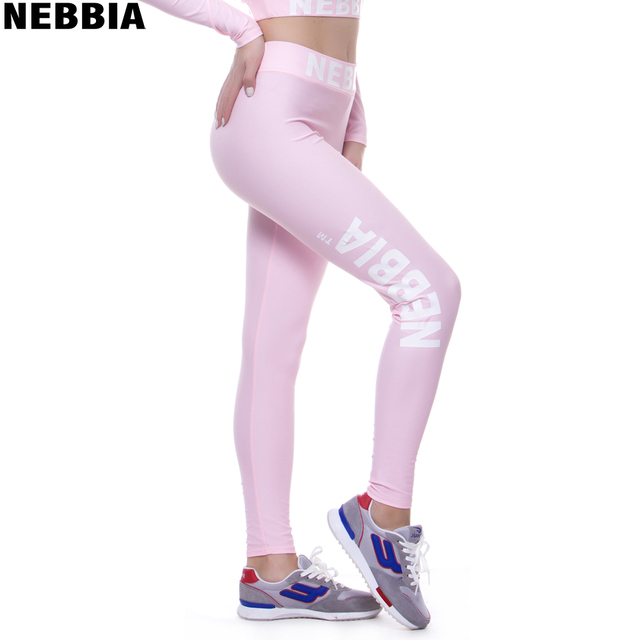 60dfc52ab8 NEBBIA Unique Design Sexy Pink Yoga Pants Seamless High Waist Athletic  Sport Leggings Olive Workout Jogging