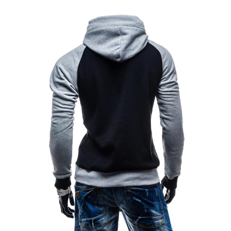 2018 Uus brändi mehed Hoody dressipluusid Hip Hop Fashion Slim - Meeste riided - Foto 4
