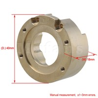 Mxfans Golden Aluminum Alloy T8630 Heavy Metal Knuckle Weight For TRAXXAS TRX 4 RC1 10 Rock