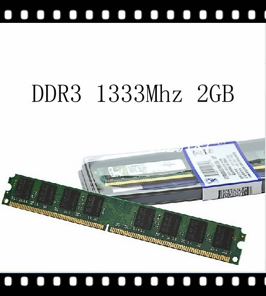 A+Wholesale and  Memory Ram for desktop computer Brand New DIMM DDR3 Ram 2GB 1333Mhz Compatible with