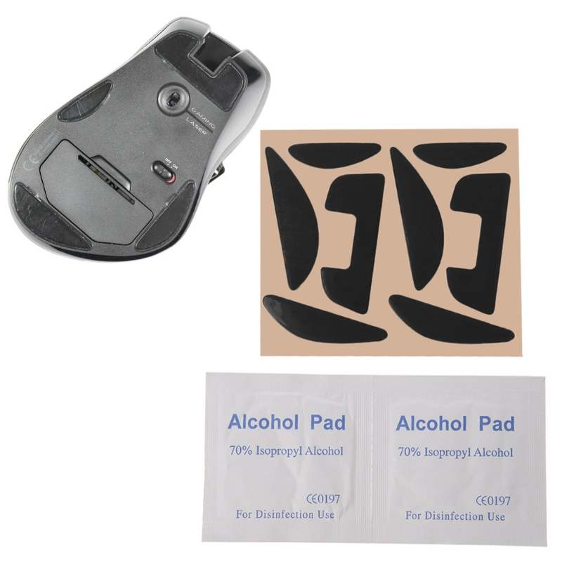 Mouse Skatez / Mouse Feet Mice pad for Logitech G700 G700S Laser Mouse ,1  set